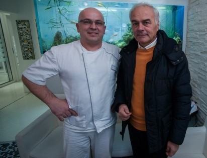 Our satisfied patient with Marko Vukic, DDS